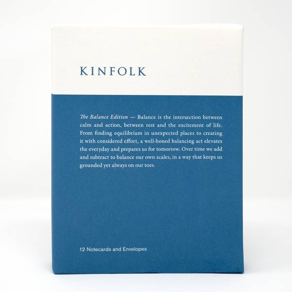 Image of Kinfolk Cards: The Balance Edition
