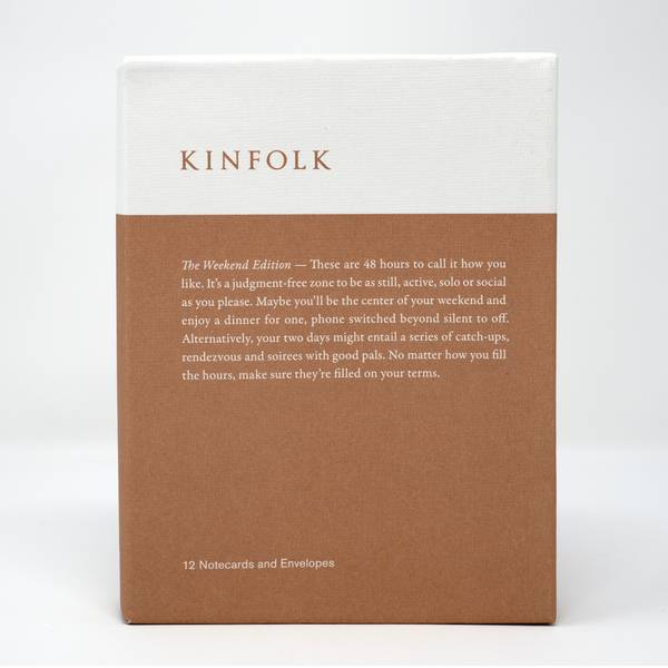 Image of Kinfolk Cards: The Weekend Edition