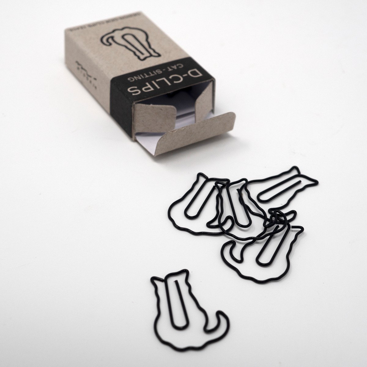 Photo of Sitting Cat Paperclips