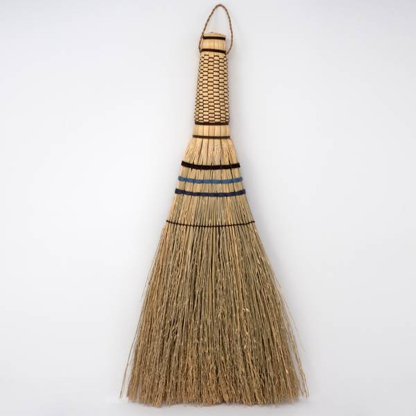 Image of Sorghum Handbroom Large Indigo