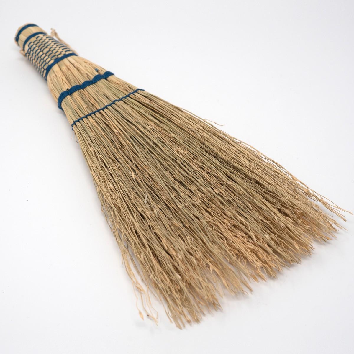 Photo of Sorghum Handbroom Medium Indigo