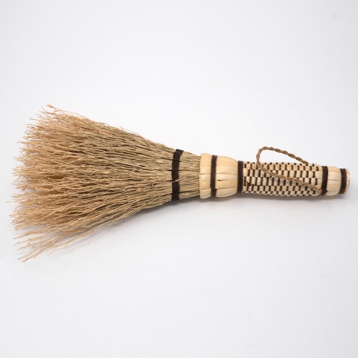 Photo of Japanese Sorghum Tabletop Brush Brown
