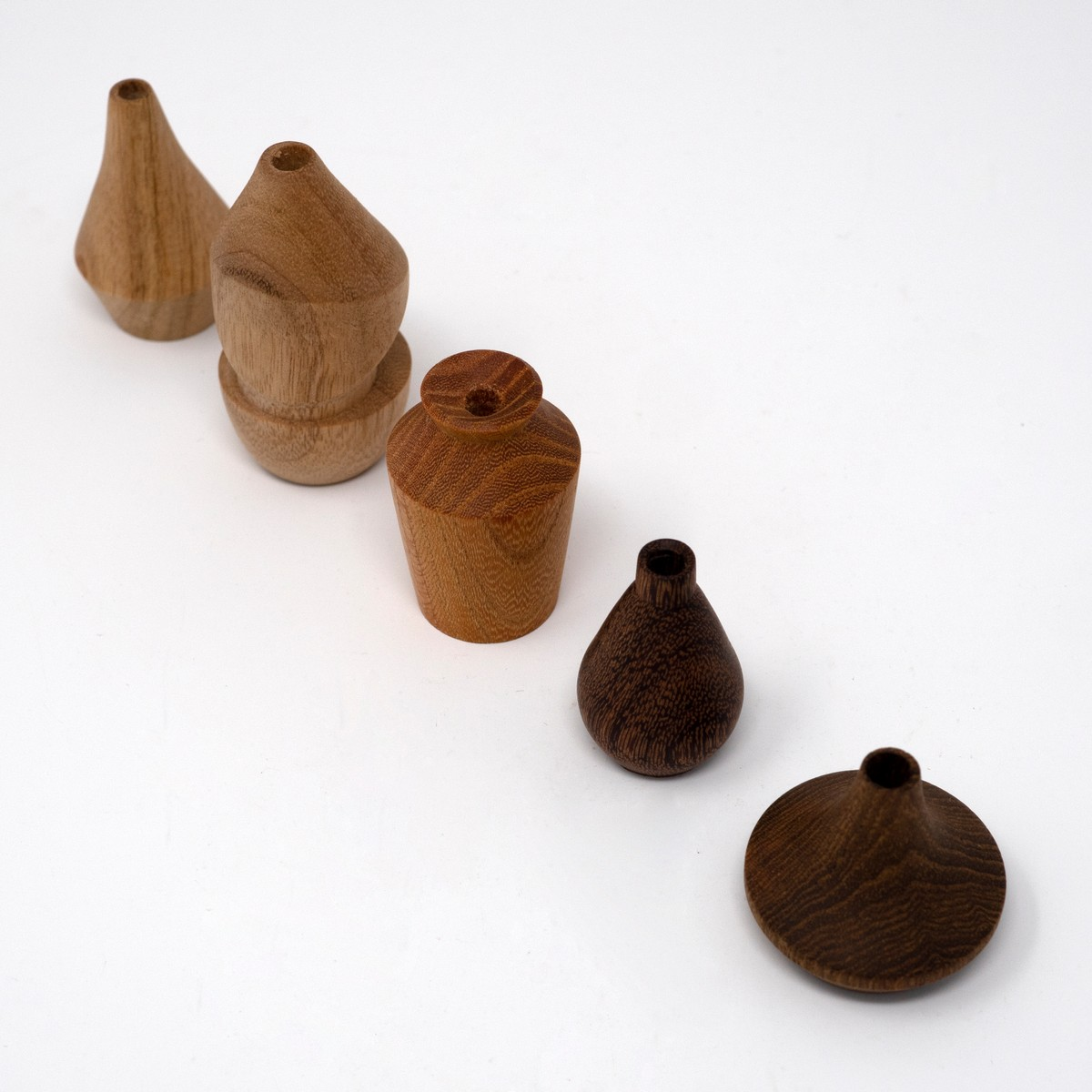 Photo of Miniature Wooden Vases: Jean Hans Arp Collection