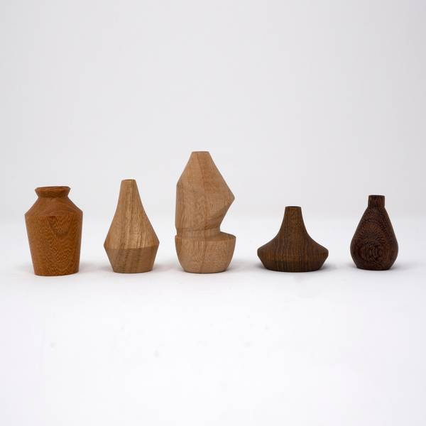 Image of Miniature Wooden Vases: Jean Hans Arp Collection