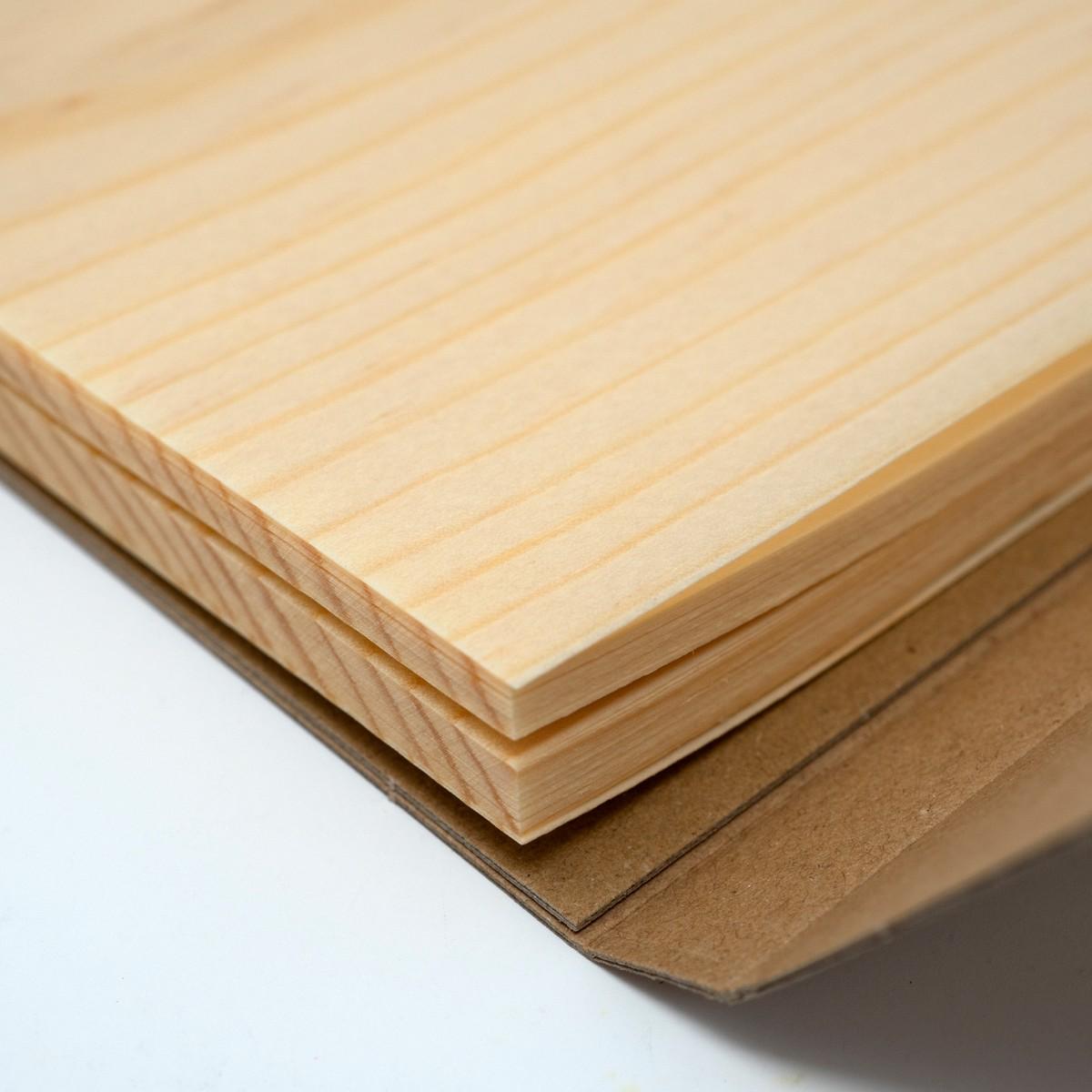 Photo of Japanese Shaved Wood Notepad