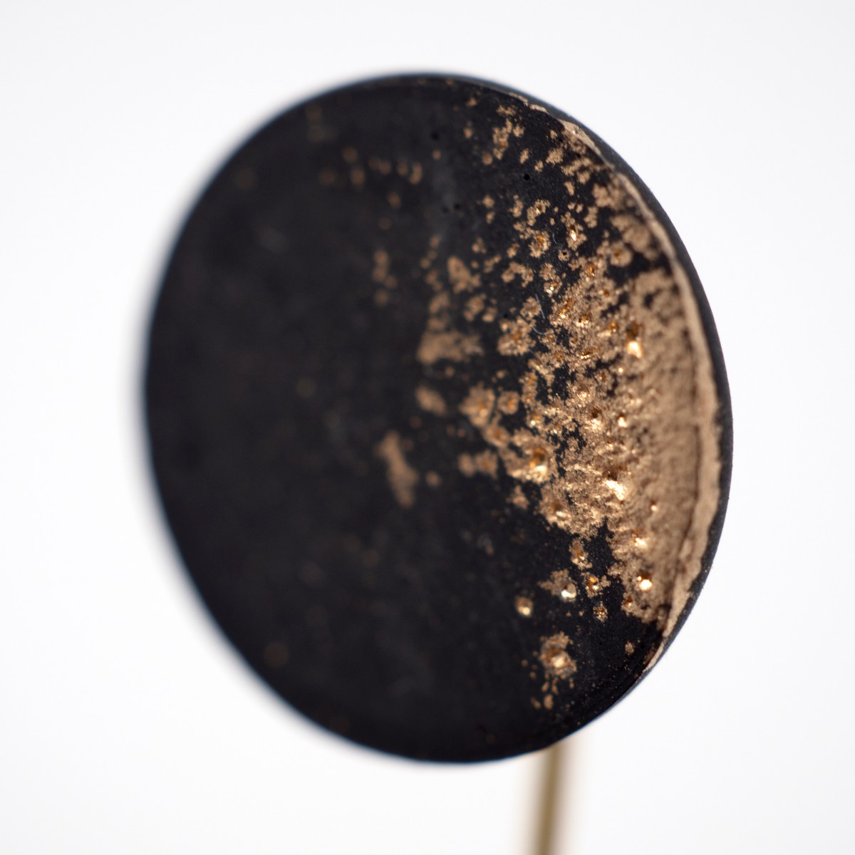 Photo of Black Kintsugi Brooch