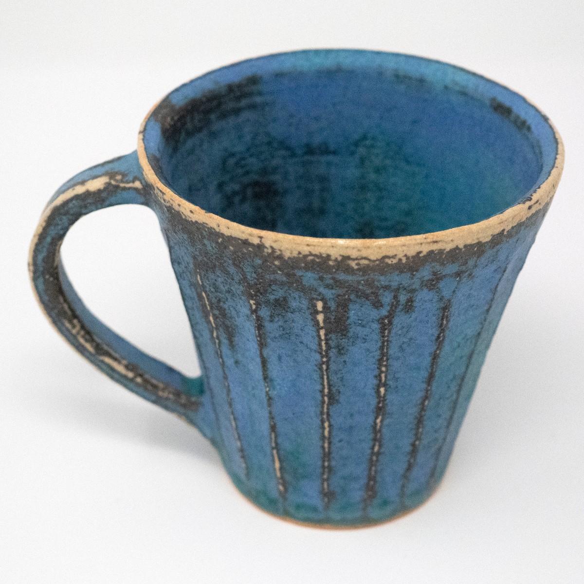Photo of Antique Blue Shinogi Mug