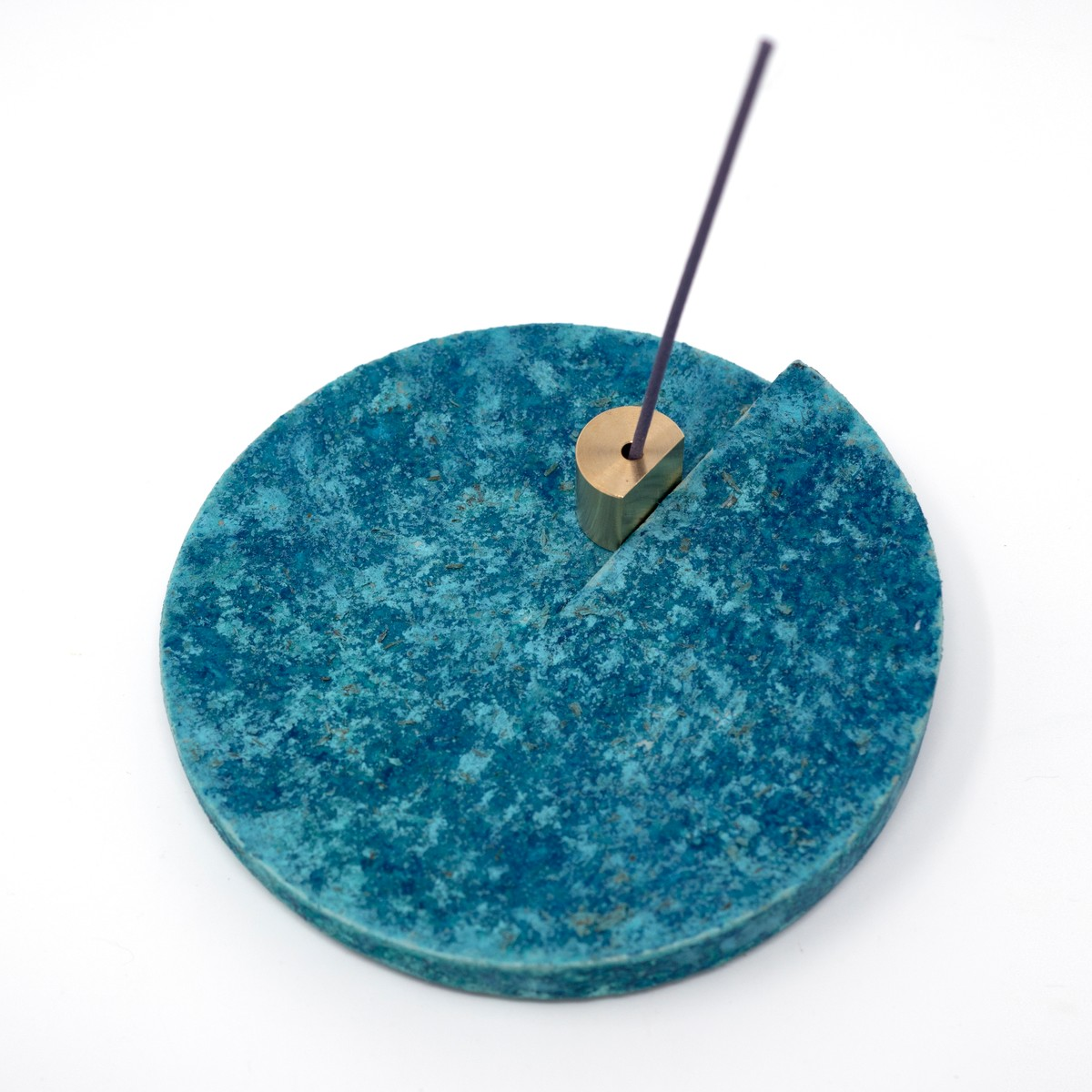 Photo of Copper Patina Incense Holder