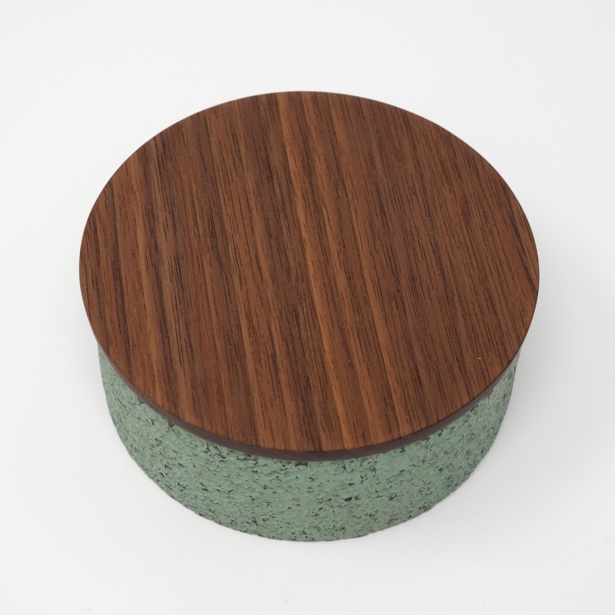 Photo of Round Carved Box