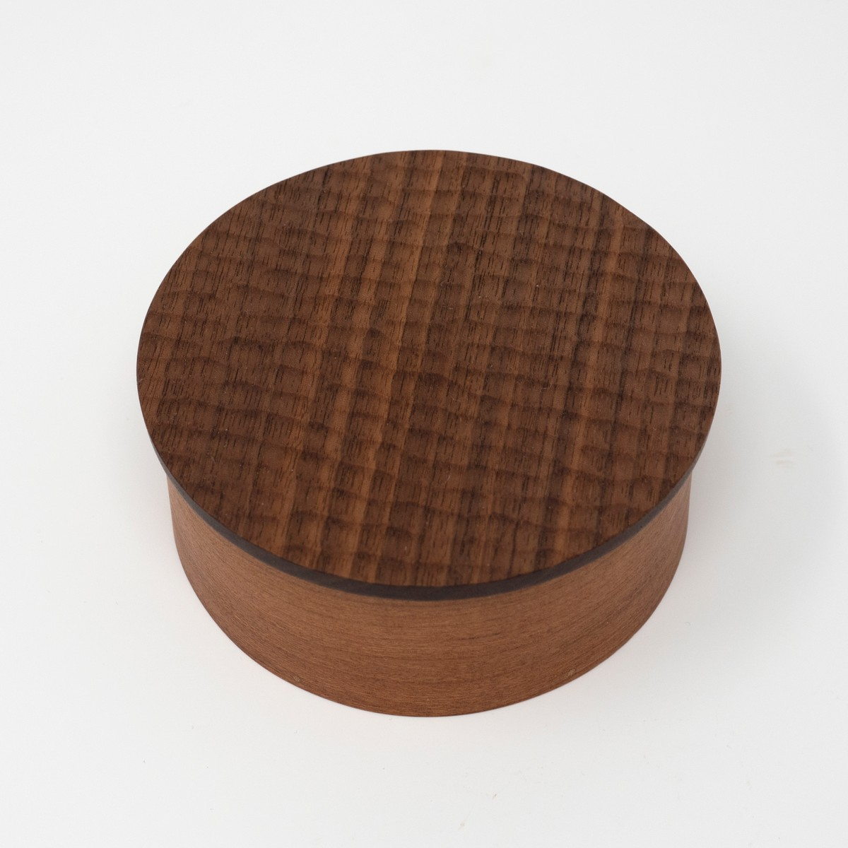 Photo of Round Carved Shaker Box