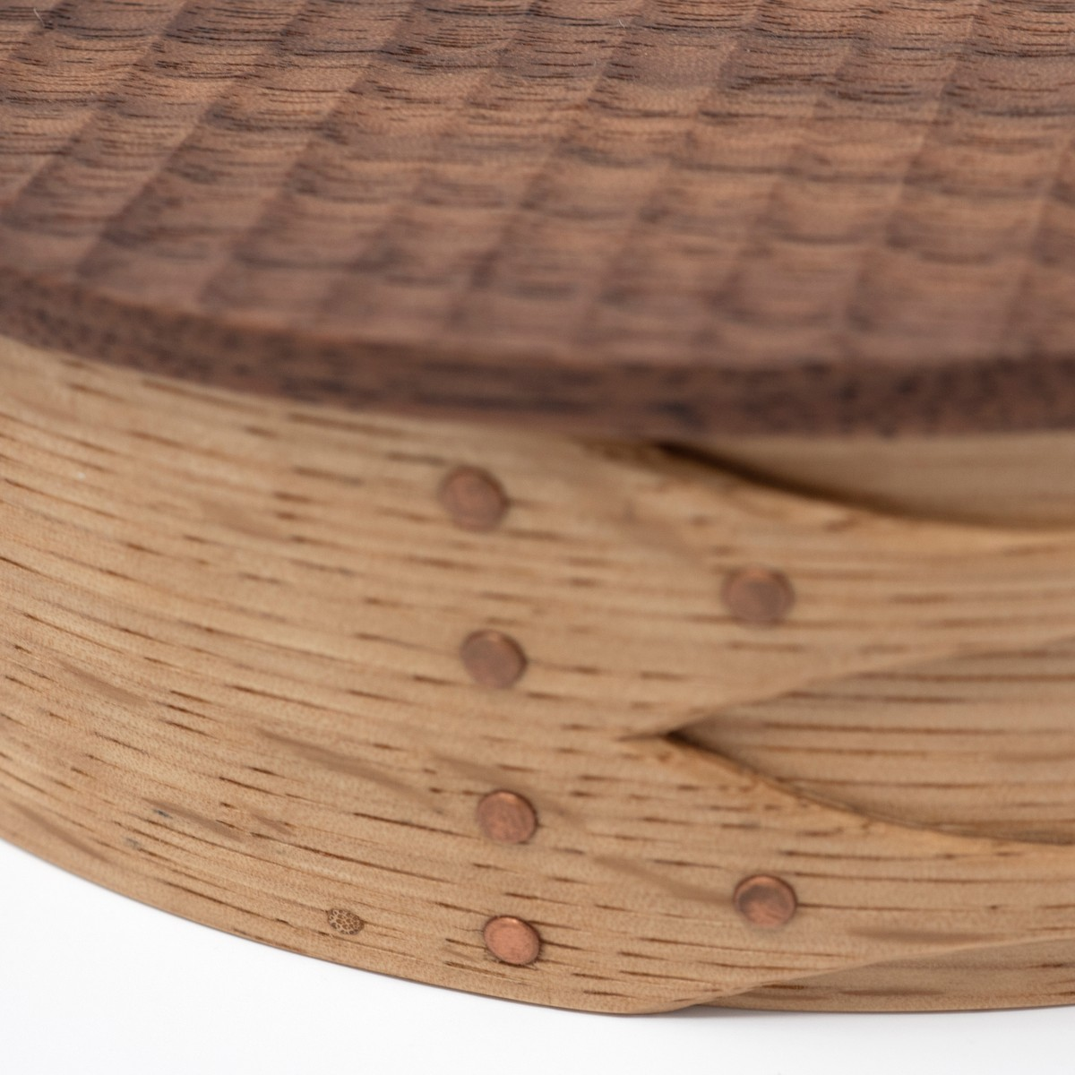 Photo of Oval Carved Shaker Box