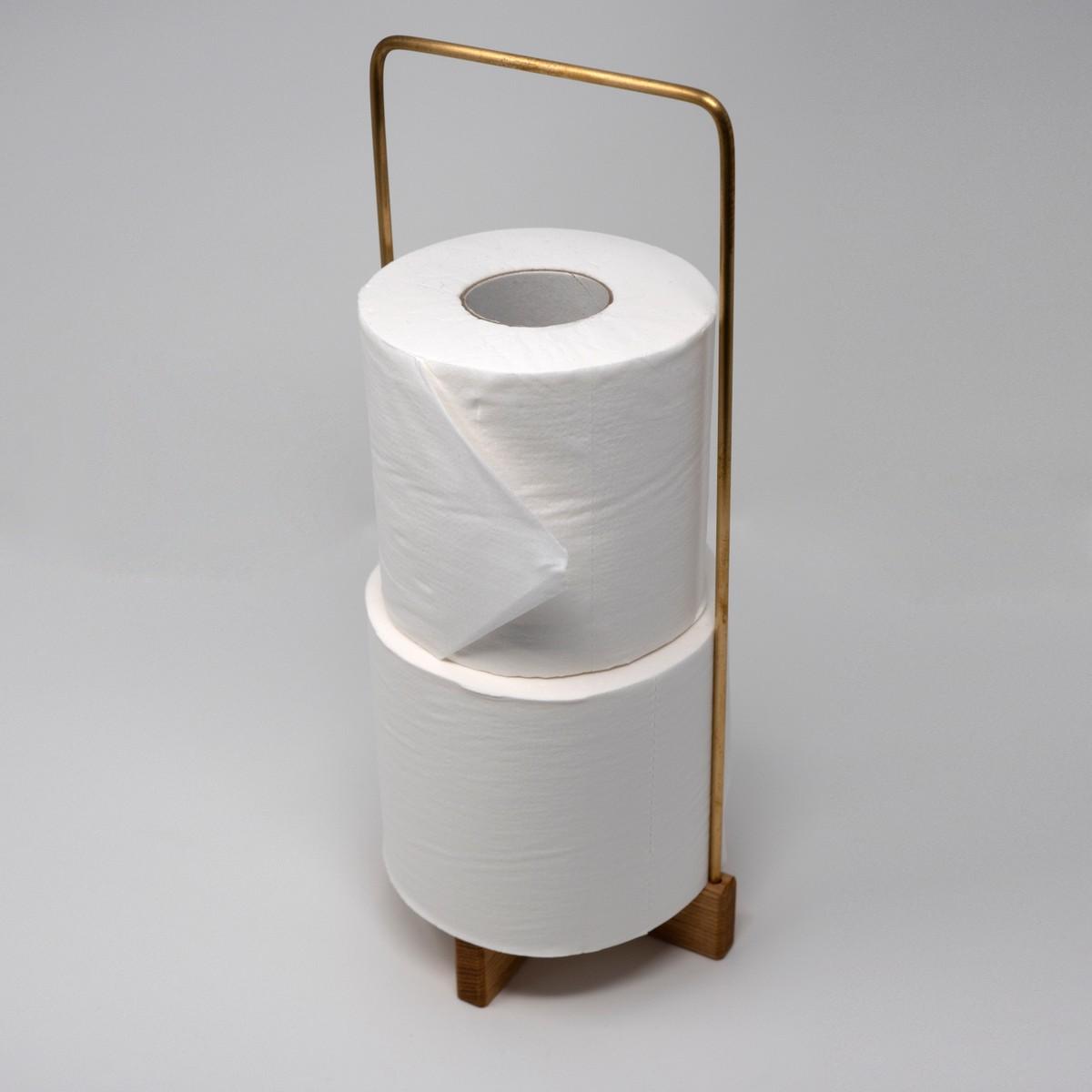 Photo of Tamo Ash Toilet Paper Stand