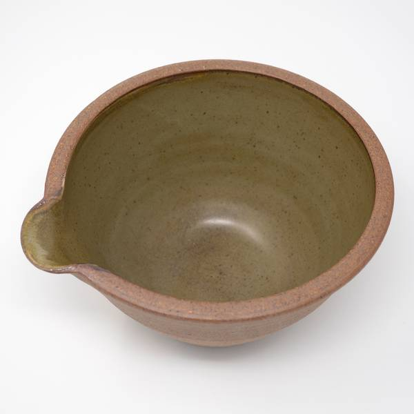 Image of Olive Green Pouring Bowl