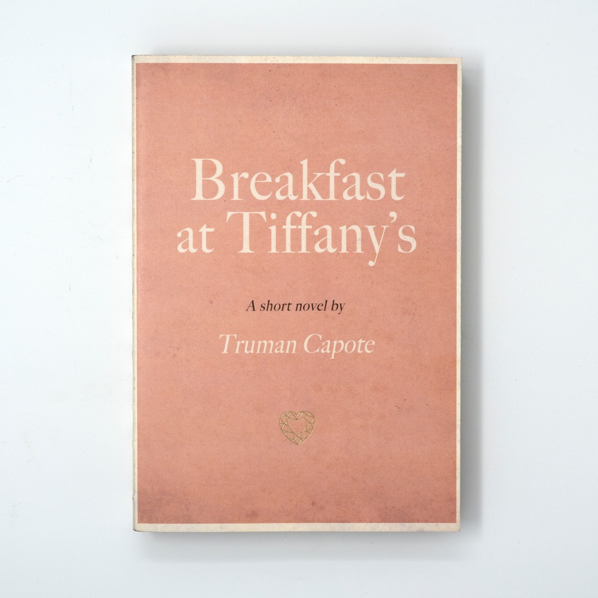 Photo of Breakfast at Tiffany's Notebook