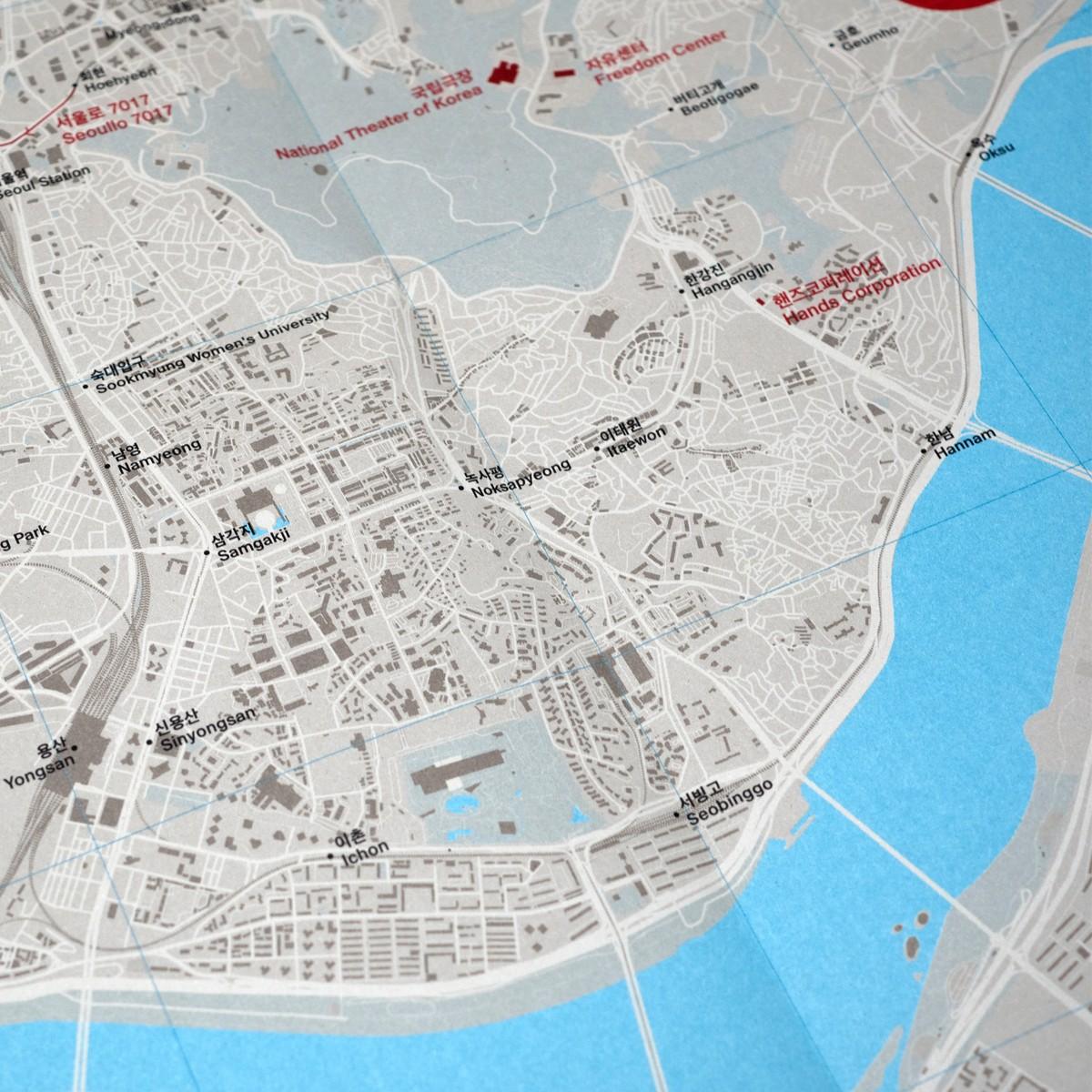 Photo of Concrete Seoul Map