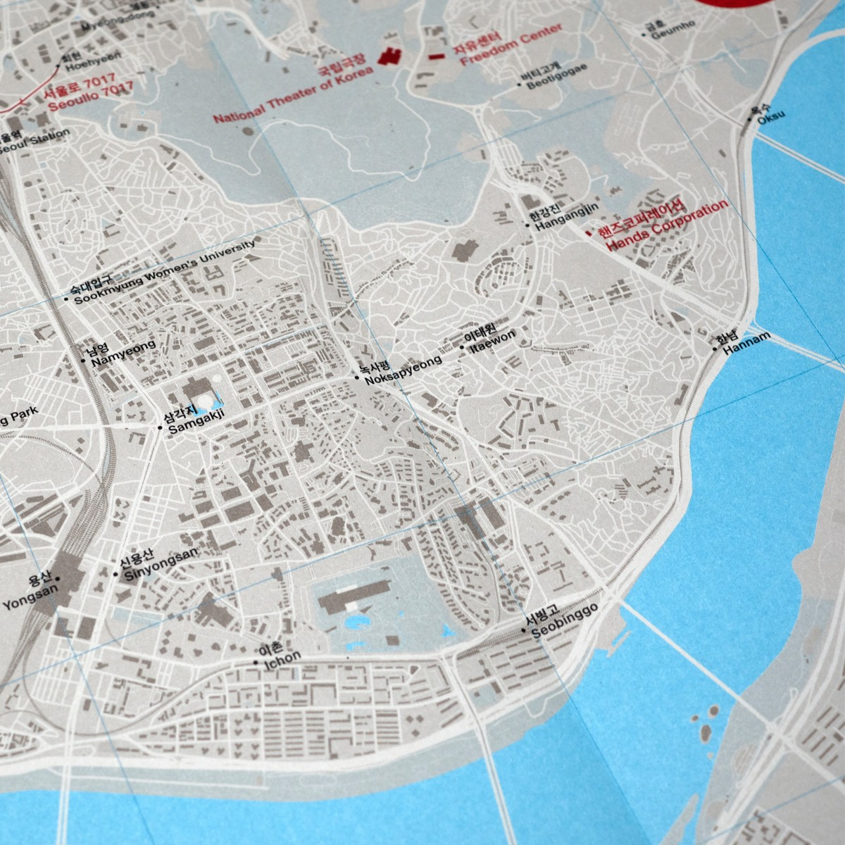 Photo of Concrete Seoul Map