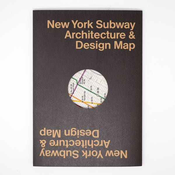 Image of New York Subway Architecture Map
