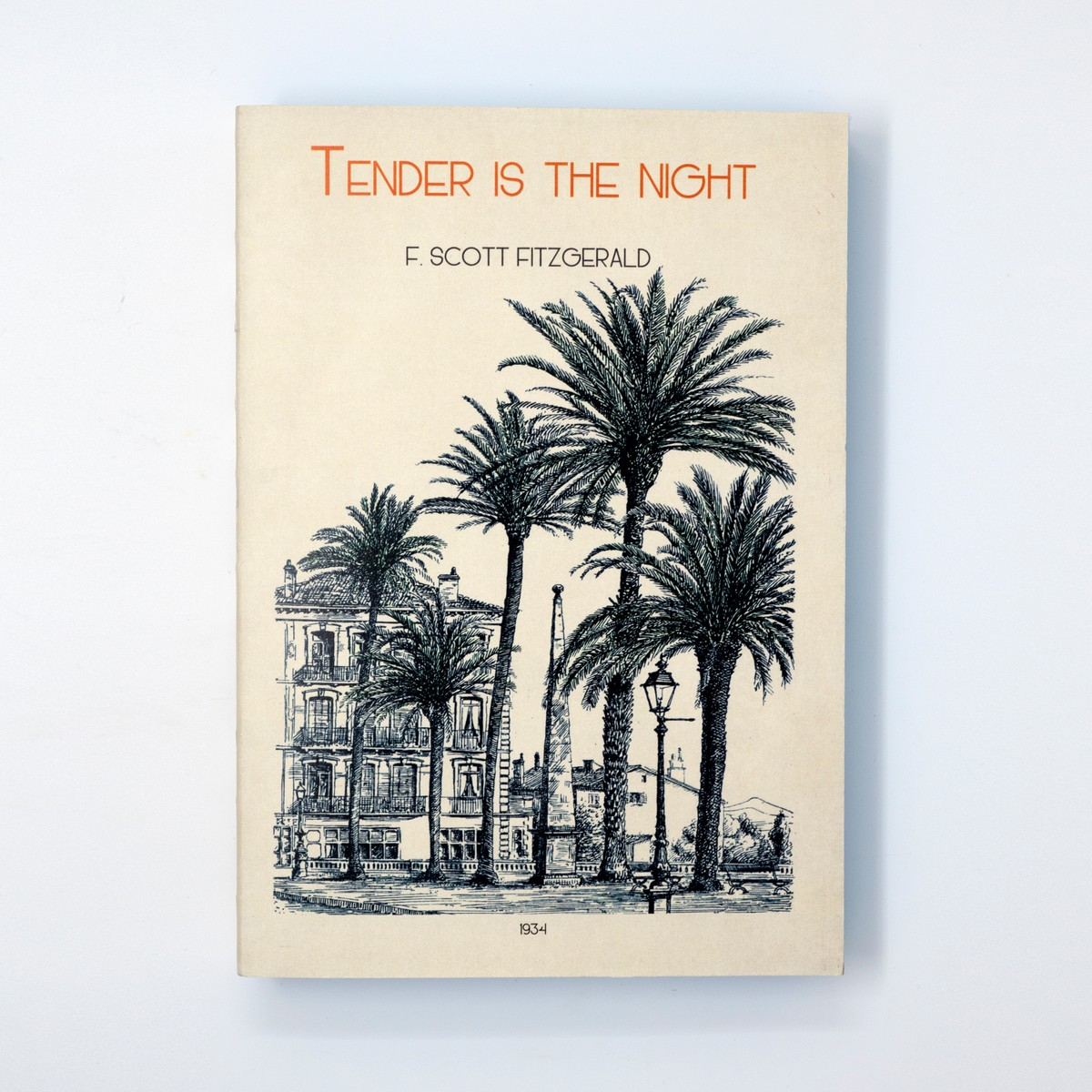 Photo of Tender is the Night Notebook