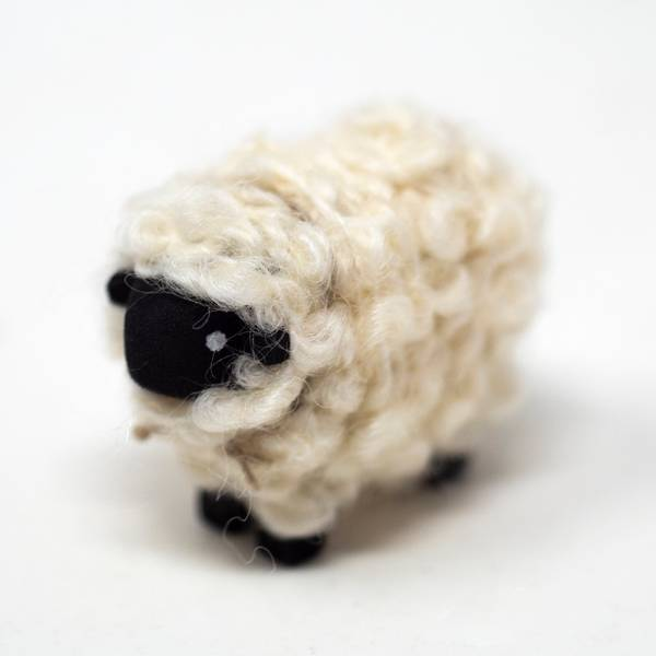 Image of Medium Suffolk Sheep Figurine