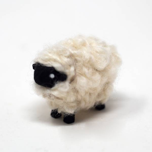 Image of Mini Suffolk Sheep Figurine