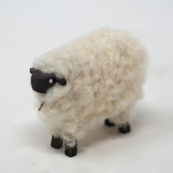 Image of Large Suffolk Sheep Figurine