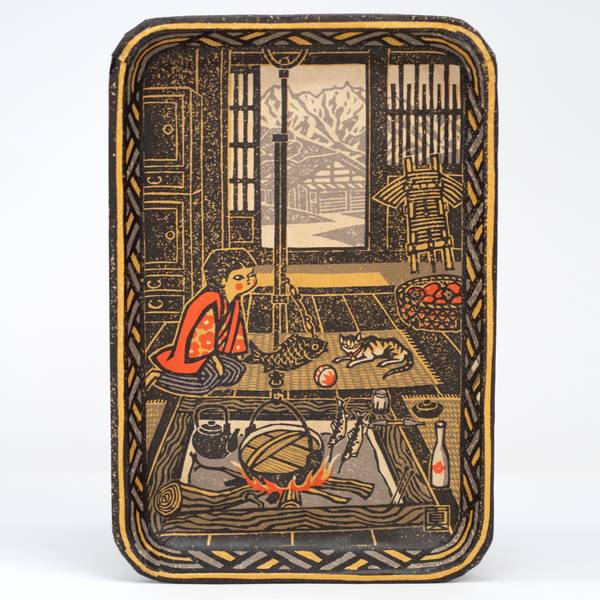 Image of Fuyu Gomori Japanese Tray