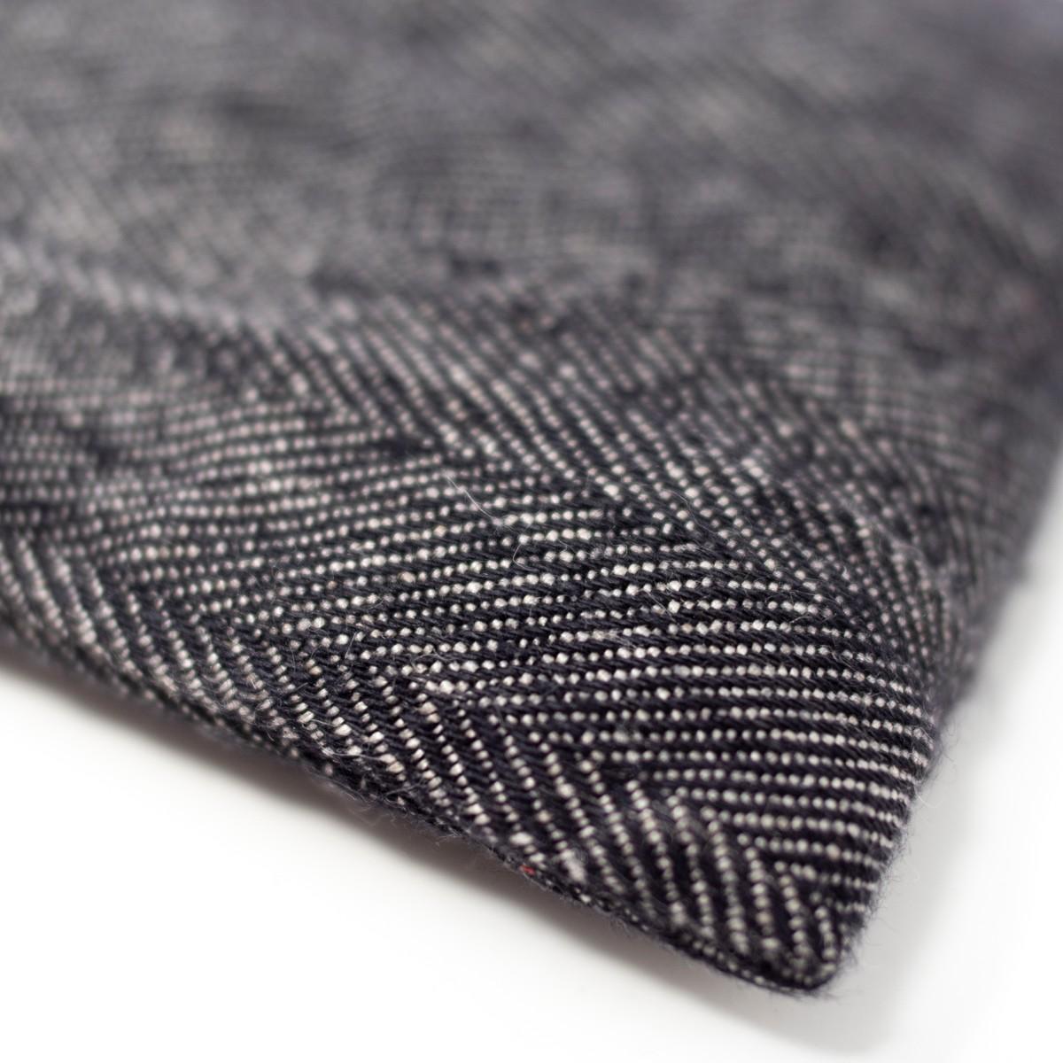Photo of Herringbone Linen Eye Pillow