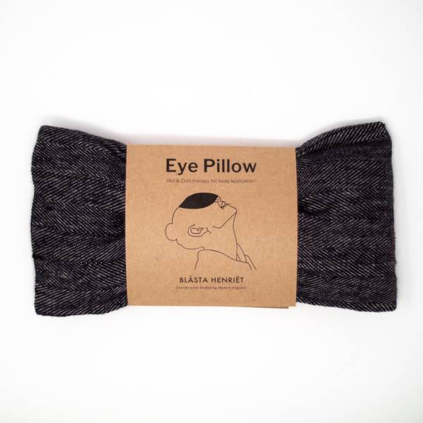 Image of Herringbone Linen Eye Pillow