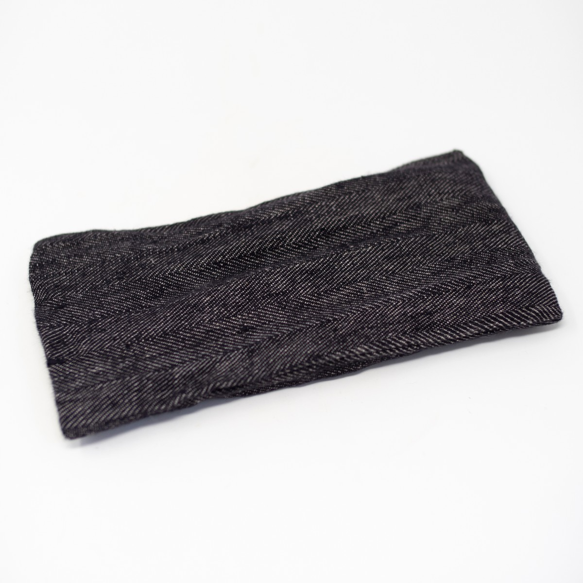 Photo of Herringbone Linen Eye Pillow