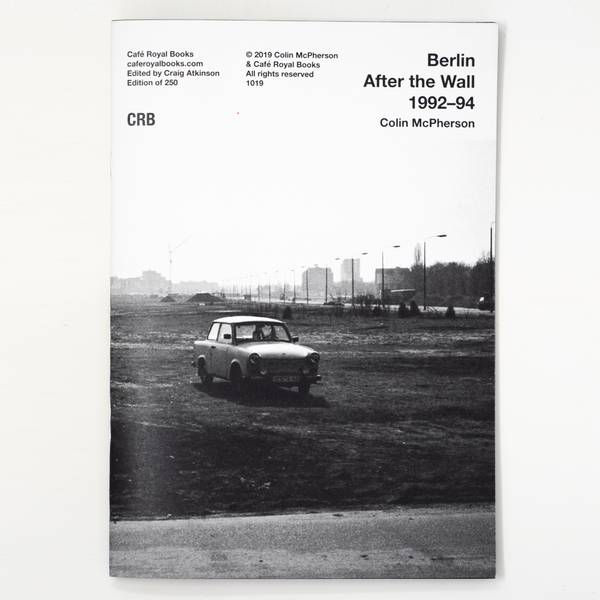 Image of Berlin After the Wall 1992–1994 Photozine