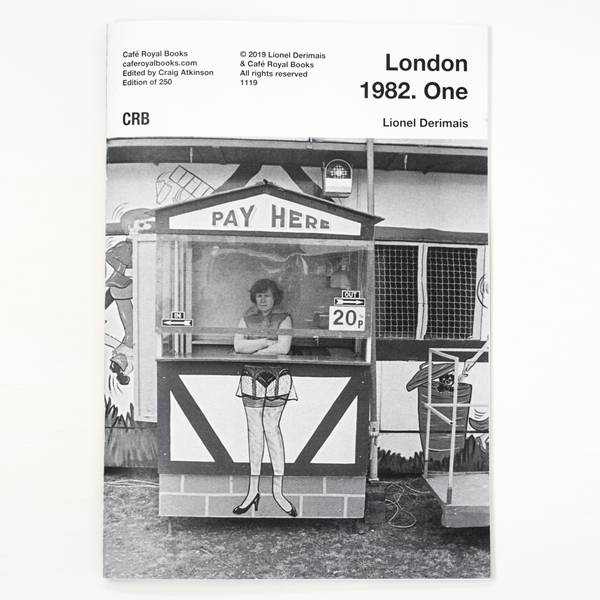 Image of London 1982 Photozine