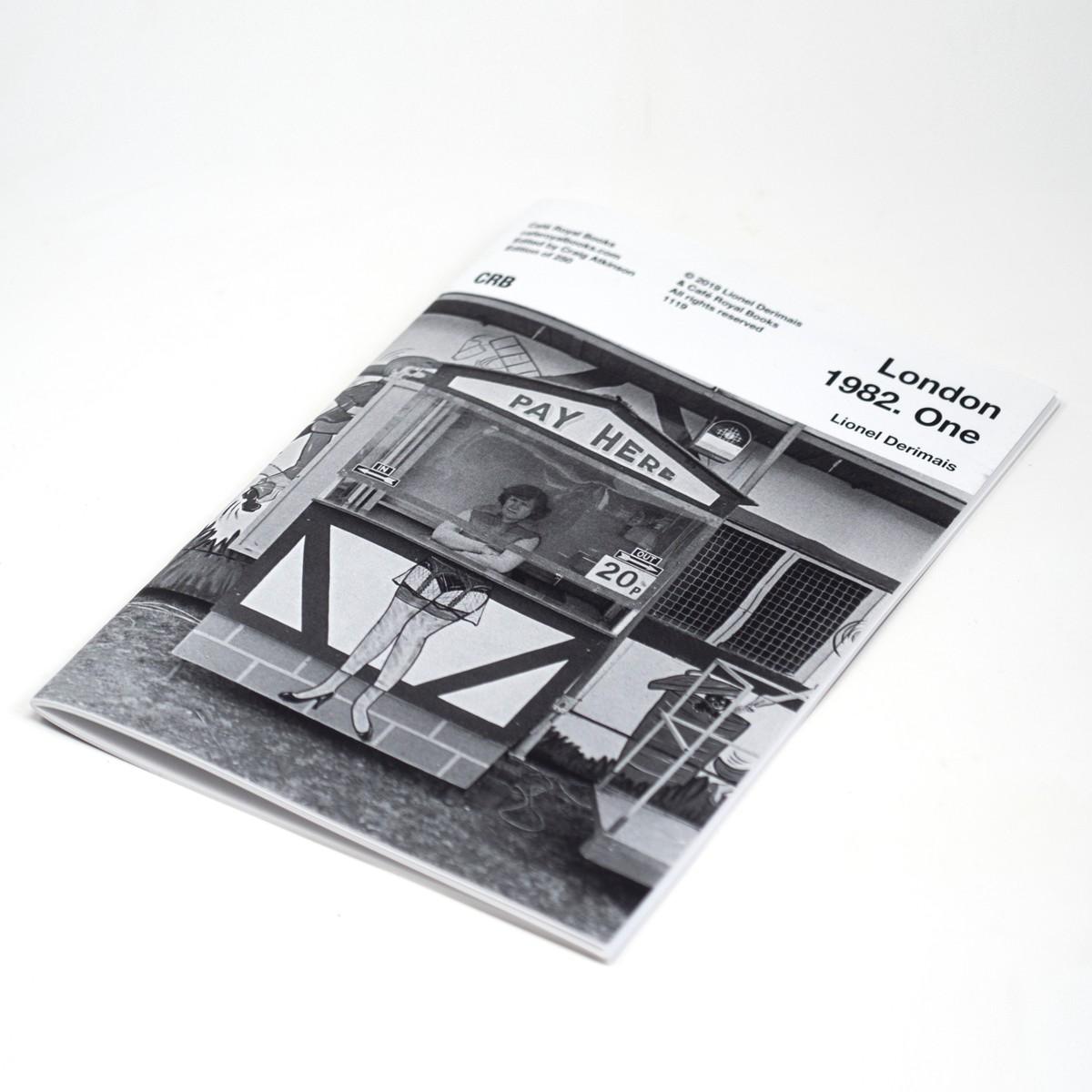 Photo of London 1982 Photozine