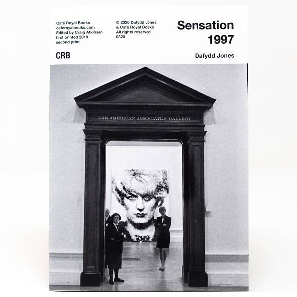 Image of Sensation 1997 Photozine
