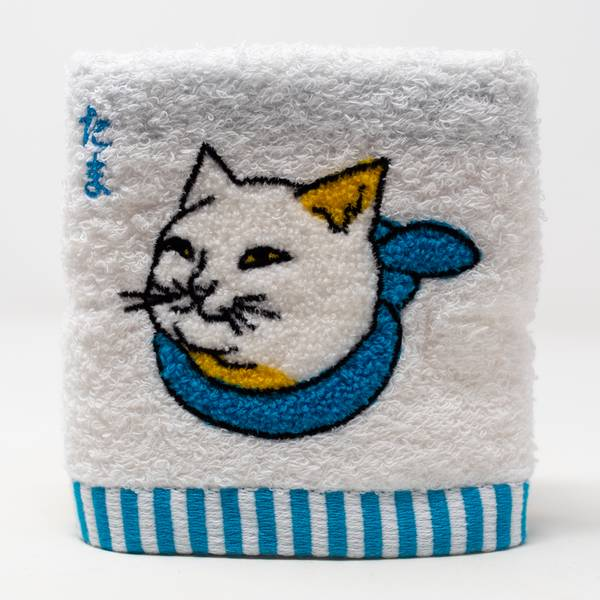 Image of Tama Cat Hand Towel