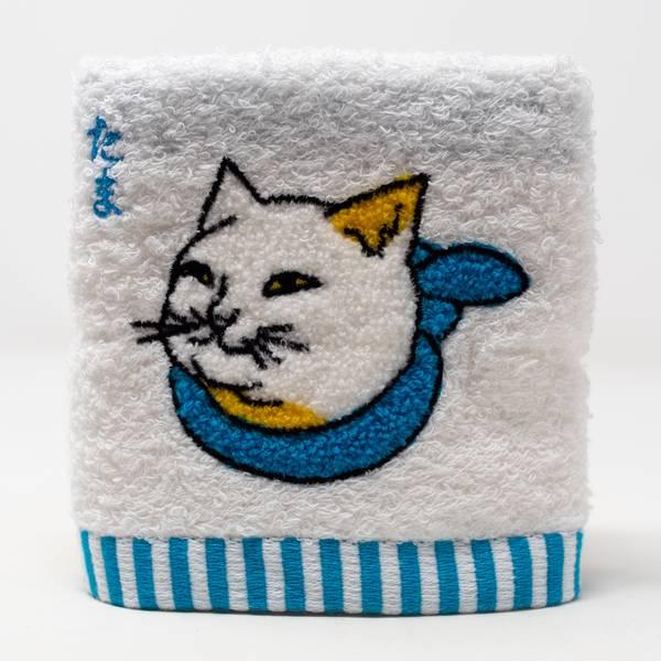 Image of Tama Cat Hand Towel