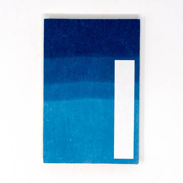 Image of Large Danzome Indigo Notebook