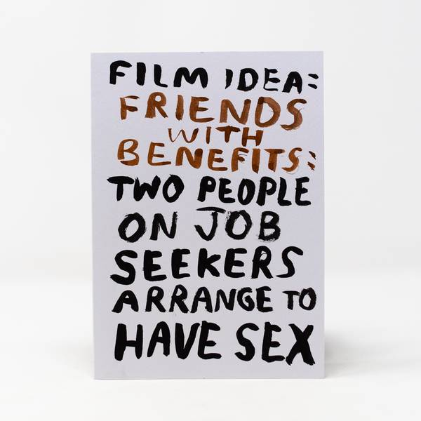 Image of Friends with Benefits Greeting Card