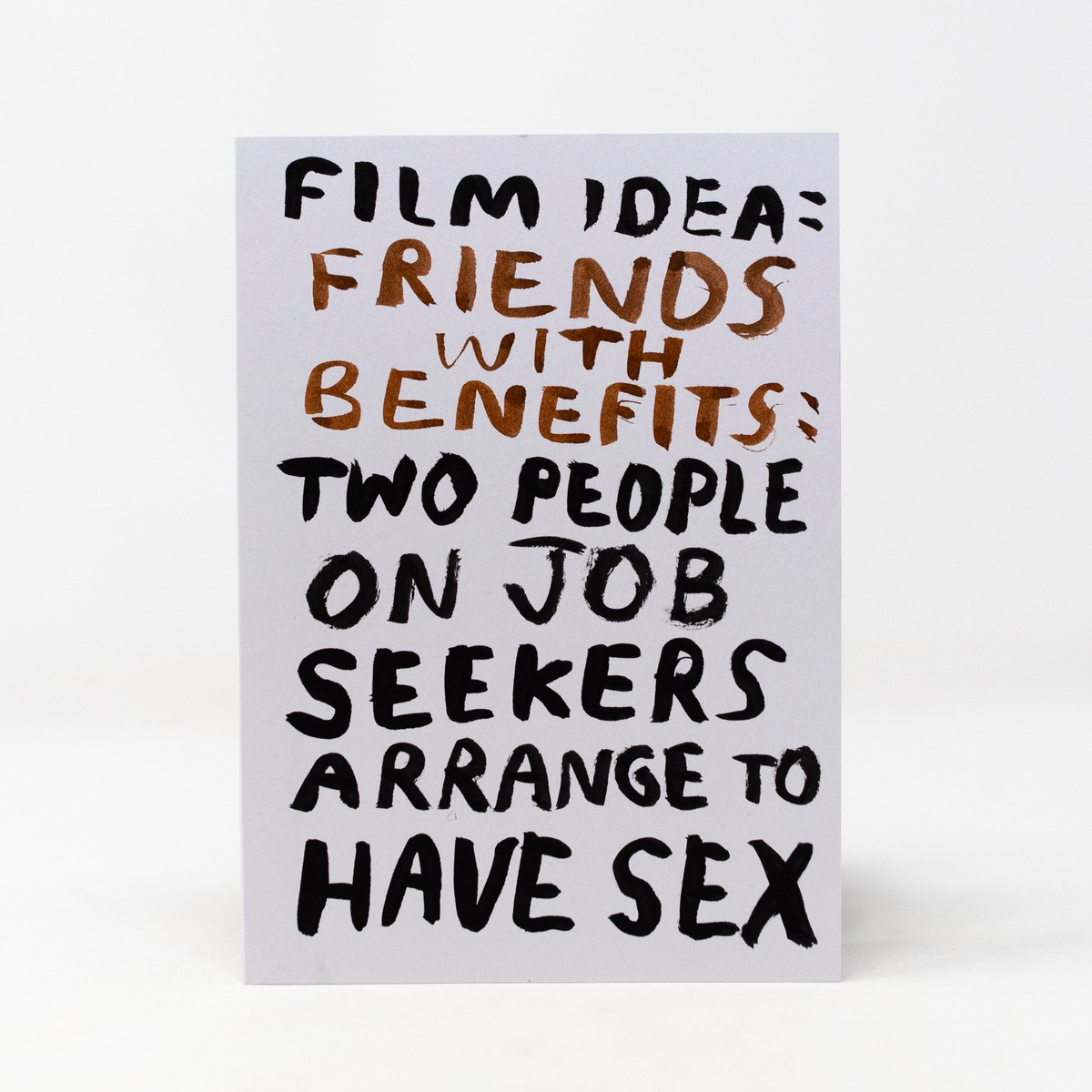 Photo of Friends with Benefits Greeting Card