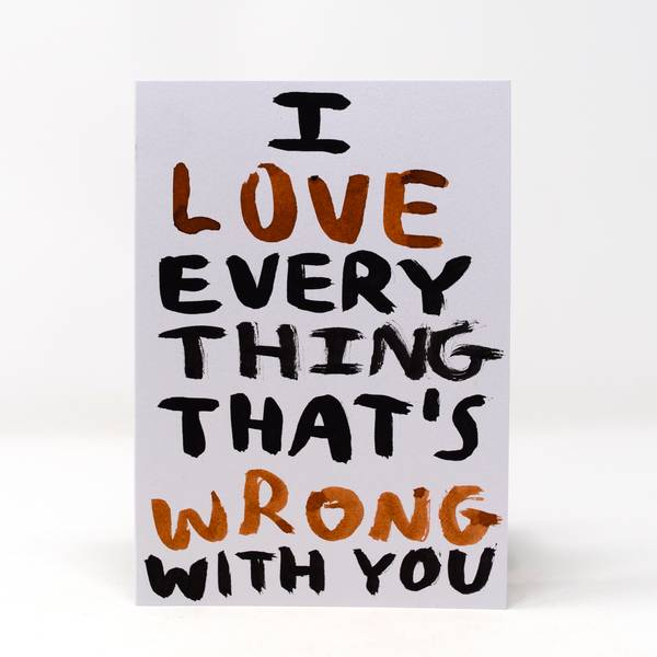 Image of I Love You Greeting Card