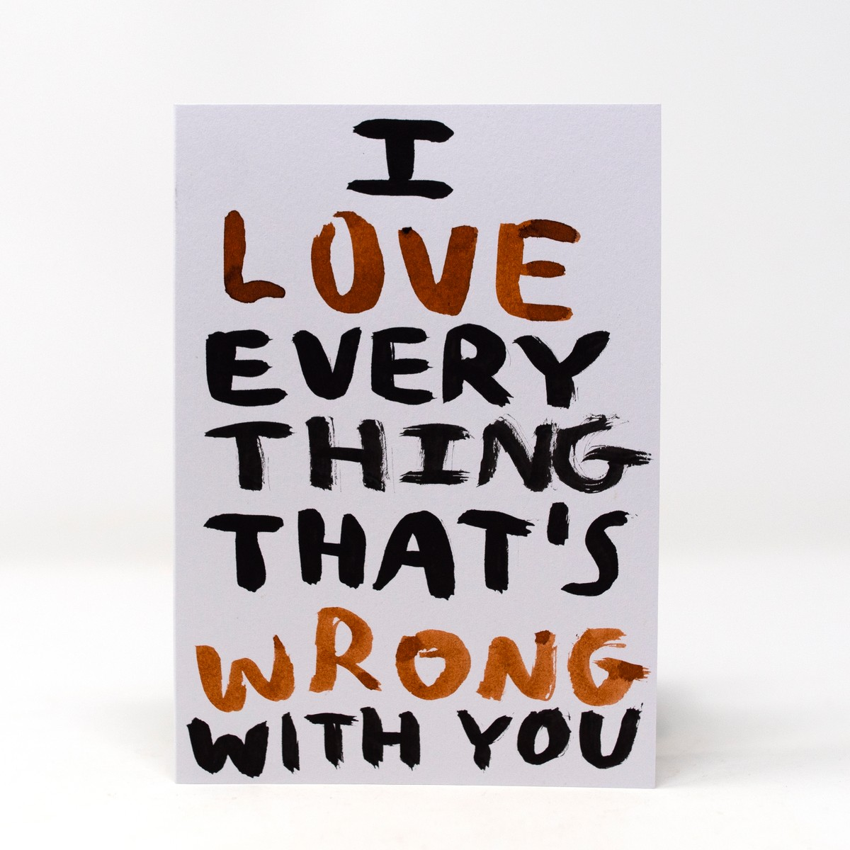 Photo of I Love You Greeting Card