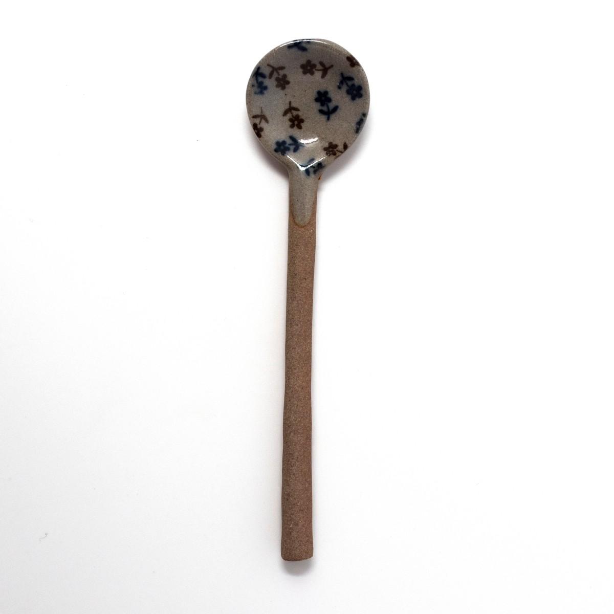 Photo of Mashiko-yaki Spoon: Flowers