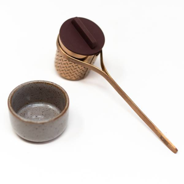 Image of Copper Tea Infuser