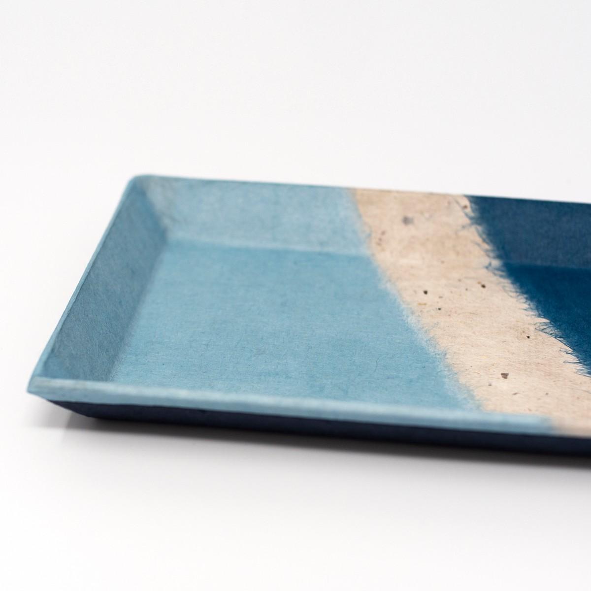 Photo of Japanese Indigo Washi Tray
