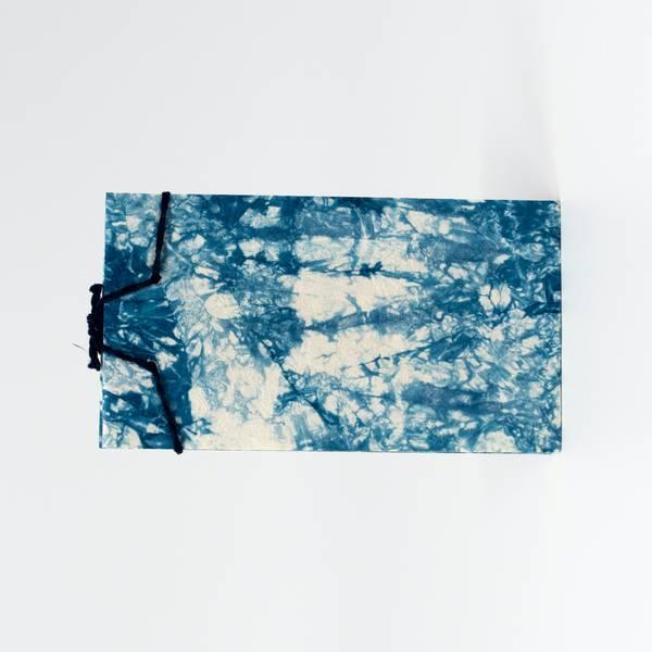 Image of Mini Bokashi Indigo Notebook