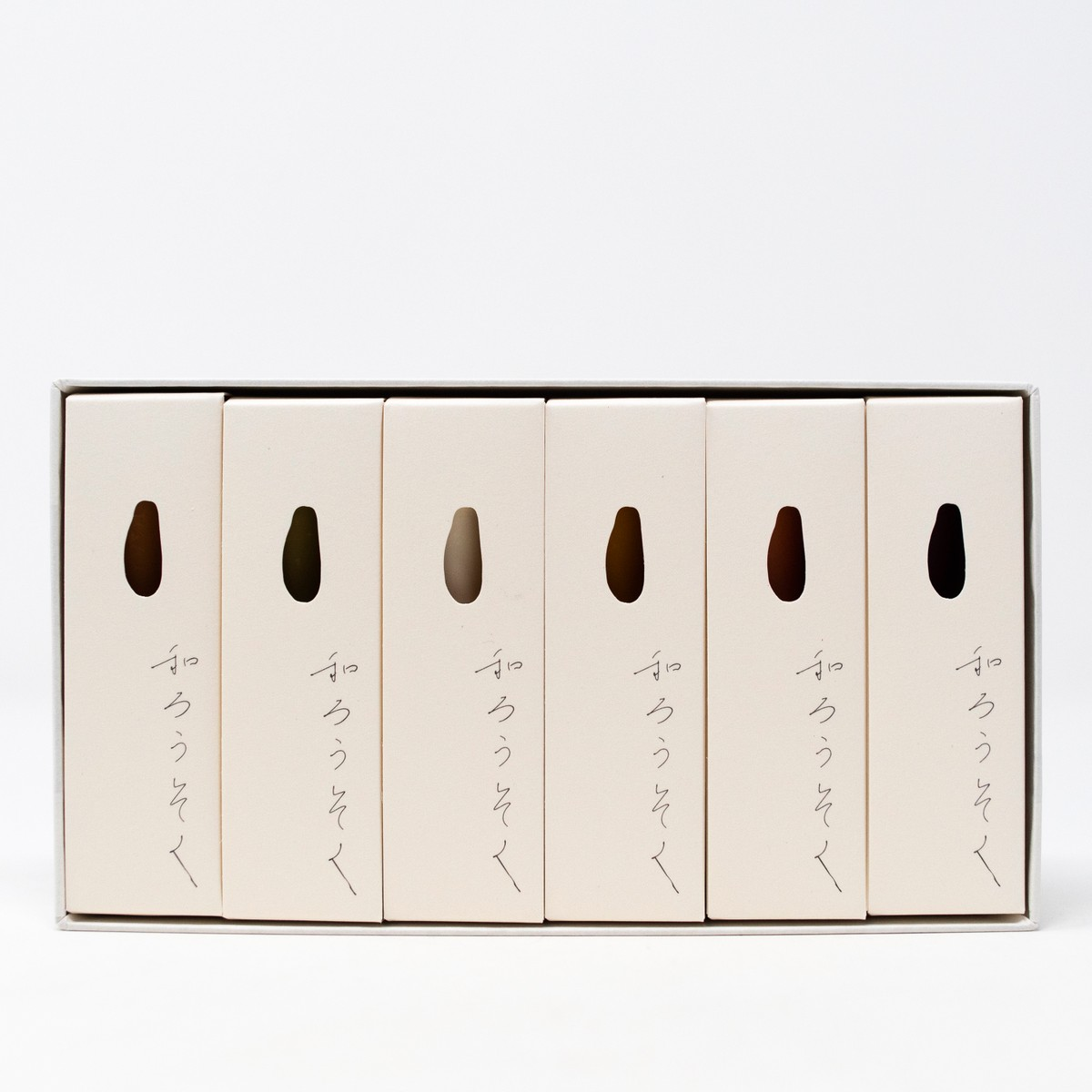 Photo of Autumn Japanese Candle Set