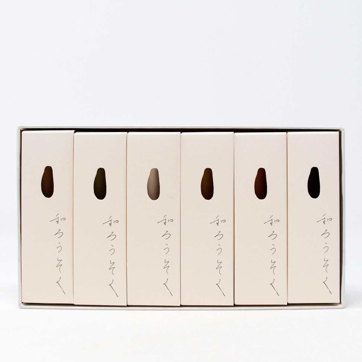 Photo of Autumn Japanese Candle Set
