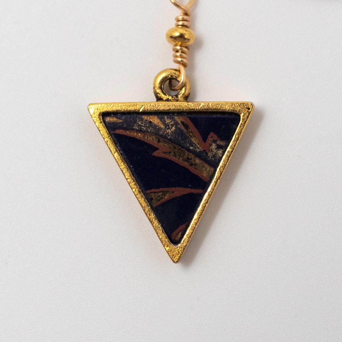 Photo of Sakura Gold Lariat Necklace