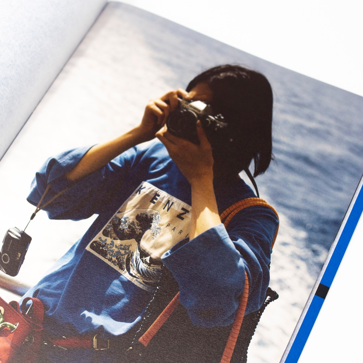Photo of Kenzo: Le Renard Bleu Folio