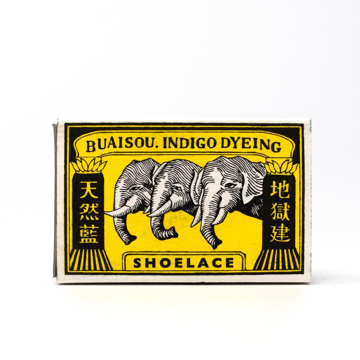 Photo of BUAISOU Indigo Shoelaces