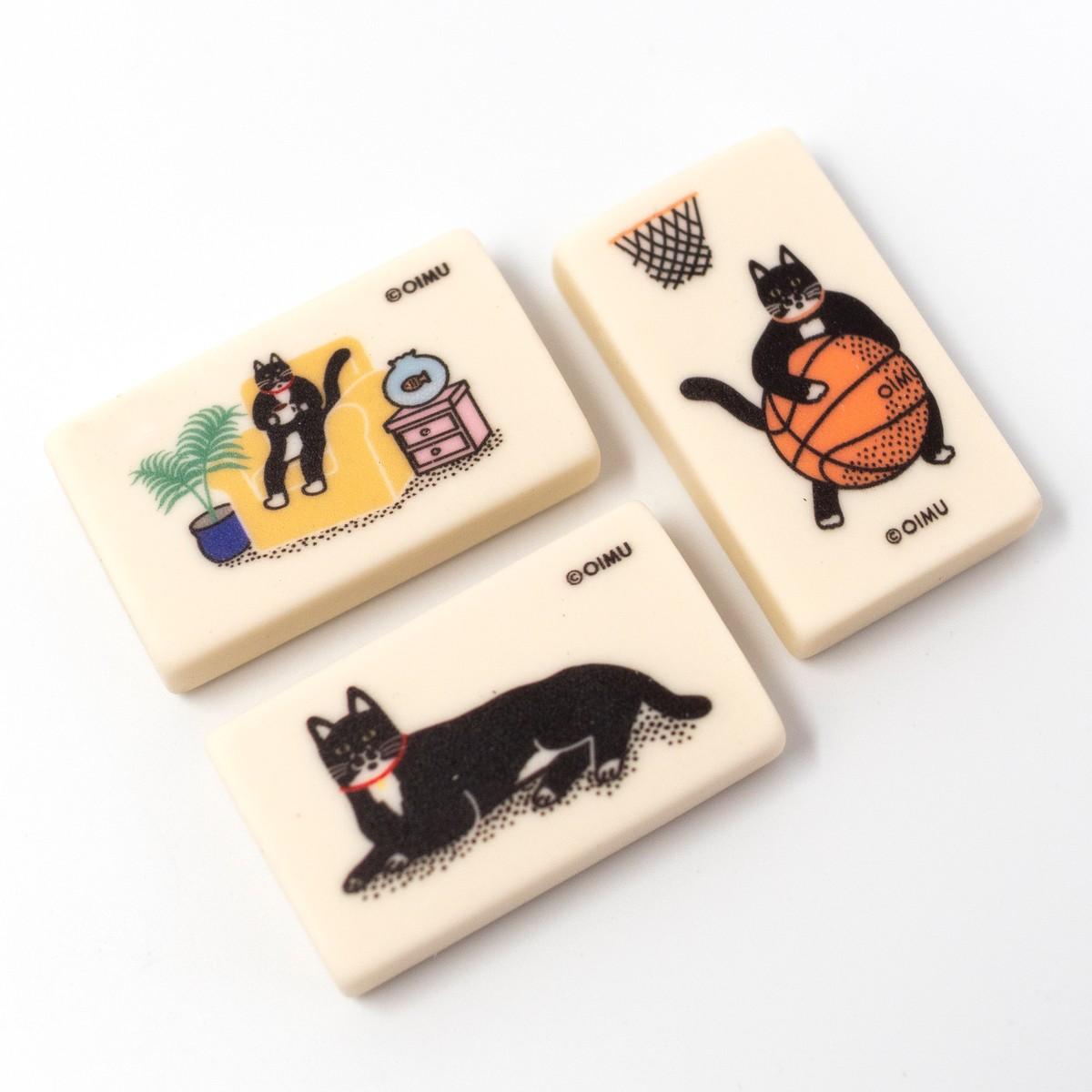 Photo of Cat Eraser Set